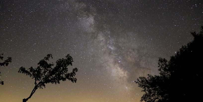 Ciel étoilé, Etang de Barrandon © Bruno Daversin PNC
