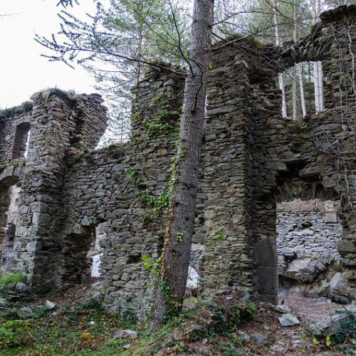 Mine du Bocard, ancienne usine de plomb argentifère de Vialas © Olivier Prohin PNC