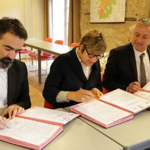 Renouvellement du protocole d'accord entre les parquets et l'établissement public du Parc © Natacha Maltaverne PNC