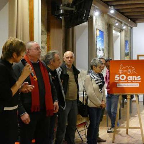 Lancement des festivités des 50 ans du Parc national des Cévennes © Natacha Maltaverne PNC