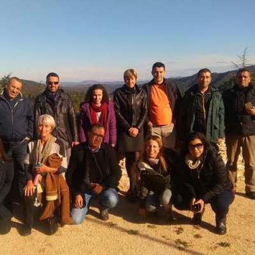 Accueil délégation des RB du Maghreb © Stephan Garnier Syndicat mixte des hautes vallées cévenoles