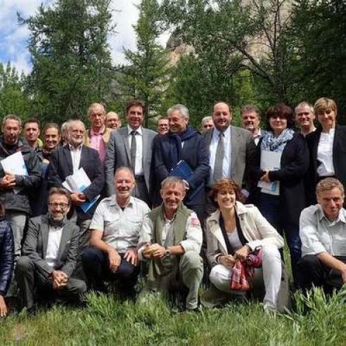Conférence des présidents des parcs nationaux français © Julien Molinier Parc national du Mercantour