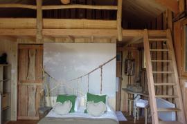 Ma p'tite cabane en Lozère - Hébergements insolites © C. Blanc, C. Delestrade