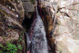 Canyoning, gorges du tapoul, Yannick MANCHE, PnC ©