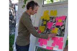 Un agent du Parc a animé l'atelier participatif © Éric Dessoliers