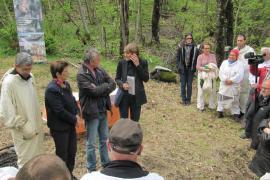 Inauguration du rucher-école de Ventajols ® Siméon Lefebvre PNC