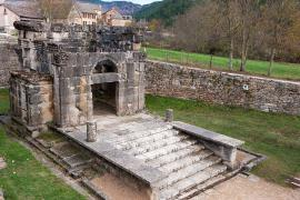 Le mausolée de Lanuéjols © Guy Grégoire