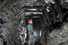 Emmanuel Zuber, spéléologue, dans les mines de Vialas © Michel Bouthors