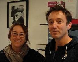 Fabienne Adjouadi et Patrice Fabrigoule Collège la Régordane à Génolhac