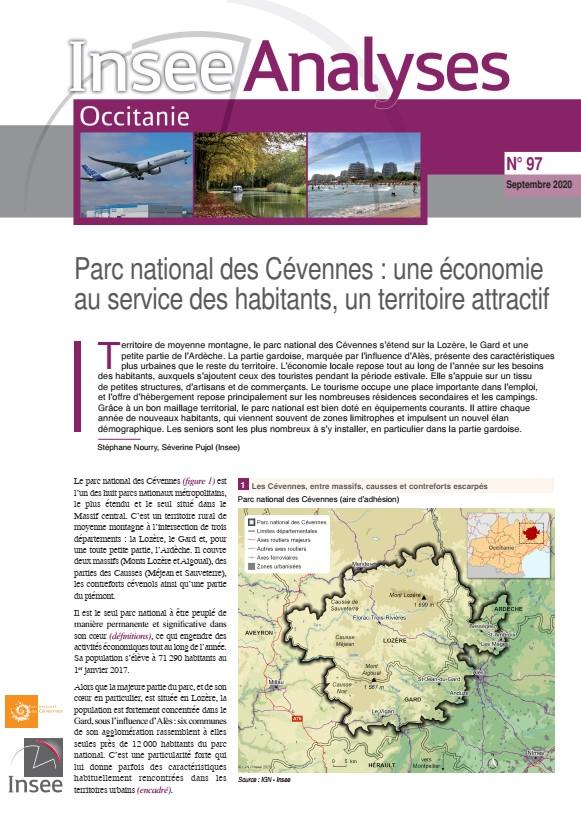 INSEE Parc national des Cévennes